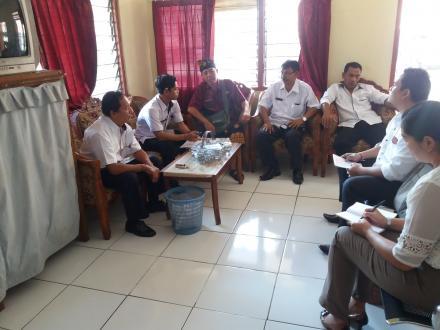 Rapat Pembinaan dan Evaluasi RKPDesa Pacung
