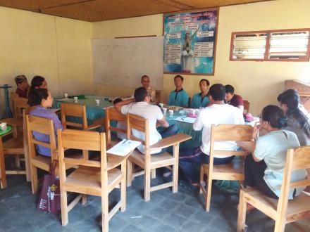 Rapat Staf Desa Pacung, Serta Penandatanganan Surat Perjanjian Kerja Perangkat Desa