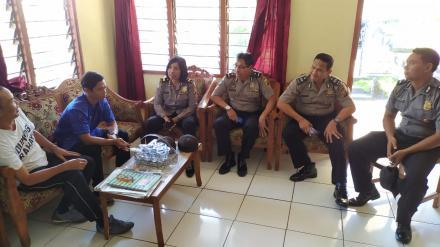 Kunjungan Petugas Kepolisian POLRES Buleleng