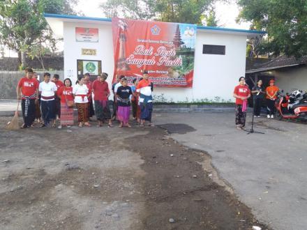 Bali Resik Sampah Plastik Bersama Pemkab Buleleng