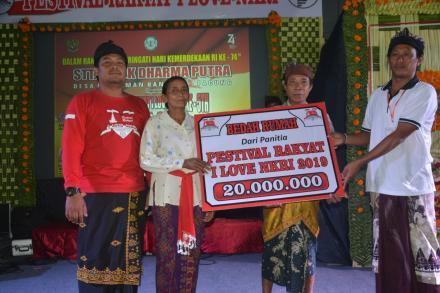 Lima Tahun Berkarya, STT Hadirkan Artis Bali dan Subangkan 1 Bedah Rumah