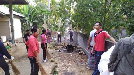Bersama Anak SD Mewujudkan Desa Yang Bersih dari Sampah Plastik