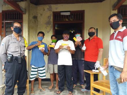Penyaluran Bantuan Langsung Tunai Dana Desa ( BLT DD ) Tahap II Desa Pacung