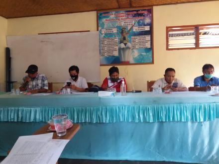 Rapat Penetapan RPJMDesa 2021 Desa Pacung