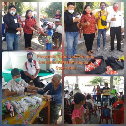 POSYANDU bersama Yayasan Stepping Stone Bali