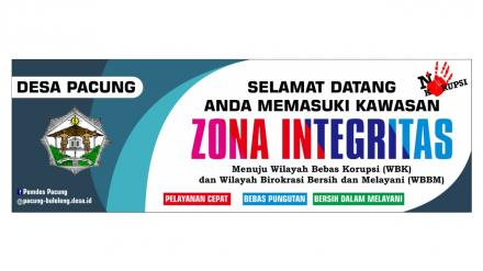 Zona Integritas Yes, Korupsi NO..!!