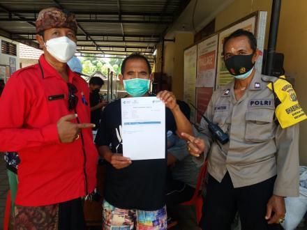 Dari 70% Sasaran Vaksinasi, sudah 1183 Warga Desa Pacung Tervaksin